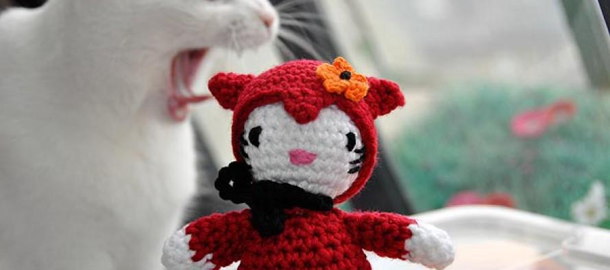 "Adventskalender * 3. Dezember * Amigurumi ""Hello Krampus"""