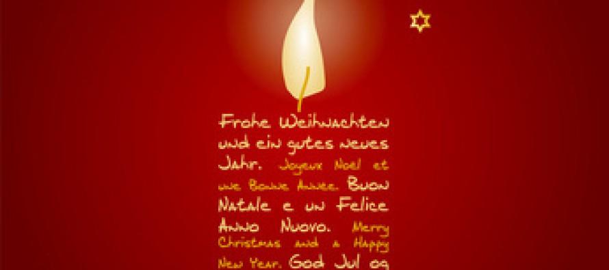 Allen Schäfchen ein friedliches Weihnachtsfest…