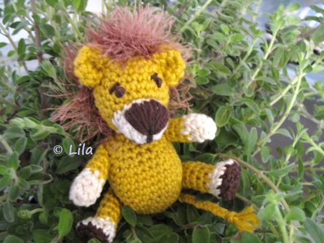 Häkelanleitung * Amigurumi * kleiner Löwe by Lila | Stricken und ...