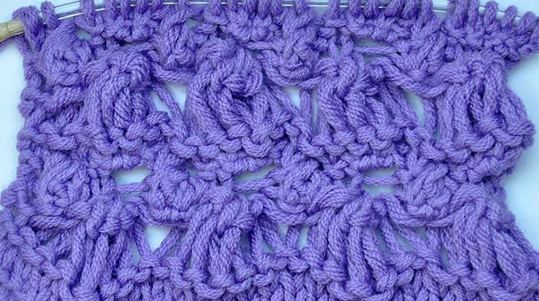 Strickmuster * Glockenblumen Muster