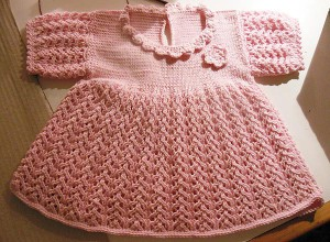 Strickanleitung * Babykleid / Kinderkleid &quot;Abbey&quot;