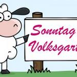 Sonntag, 10. Juni * Wien Volksgarten * Schäfchentreffen * Knit in Public Day