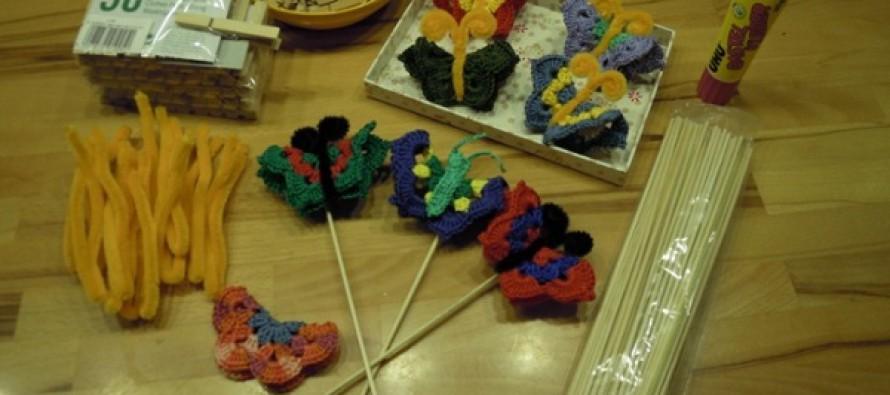 Schmetterlinge für die Krebsliga