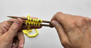 Socken Stricken * Ping Pong Anschlag