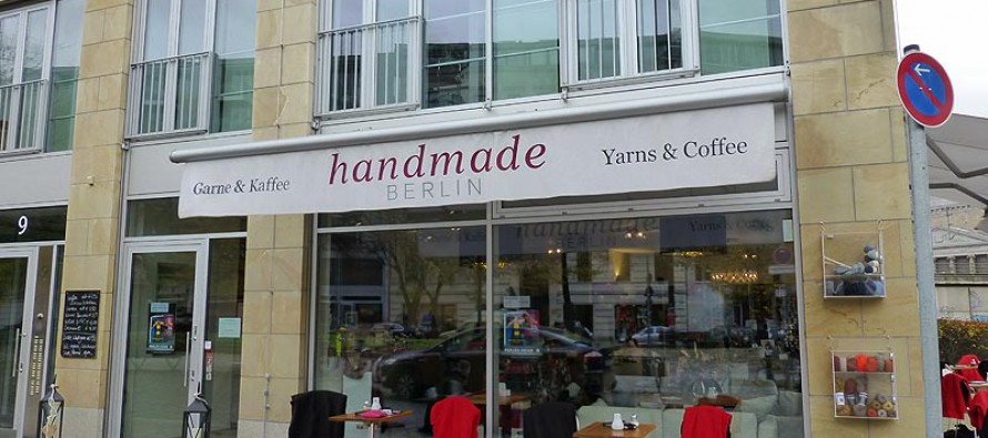 Handmade Berlin * Tolle Wolle, tolle Atmosphäre!