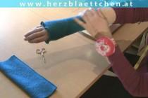 Nähen * Loop mit Kapuze & Armstulpen * Teil #04 * Armstulpen nähen