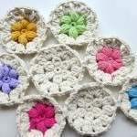 "nadelspiel Advent Calendar 2012 * December 08 * Crochet ""Flowers in the Snow"""