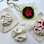 "nadelspiel Advent Calendar 2012 * December 17 * Granny Square ""Bobble"""