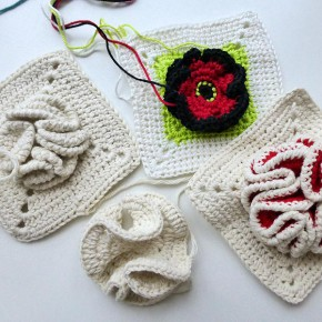 17. Dezember 2012 * Granny Square &#8220;Bobble&#8221; * nadelspiel Adventskalender 2012