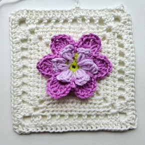 24. Dezember 2012 * Granny Square &#8220;Desideria&#8221; * nadelspiel Adventskalender 2012