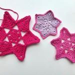 "nadelspiel Advent Calendar 2012 * December 23 * Crochet Star ""Adele"""