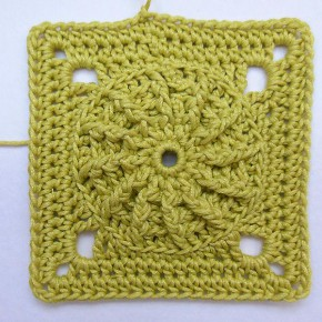 11. Dezember 2012 * Granny Square &#8220;Maya&#8221; * nadelspiel Adventskalender 2012