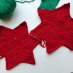 "nadelspiel Advent Calendar 2012 * December 02 * Knitted Element ""Rhombus Star"""