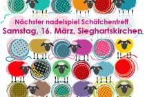 Nächster Schäfchentreff * Samstag, 16. März, Sieghartskirchen