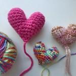 Häkeln * Amigurumi Herz für Muttertag
