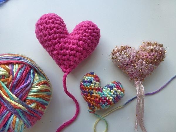 Häkeln Amigurumi Herz Für Muttertag Stricken Und Häkeln Mit Elizzza