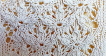 "Strickmuster ""Estonian Flower Lace"""