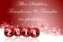 Ein glückliches 2014!