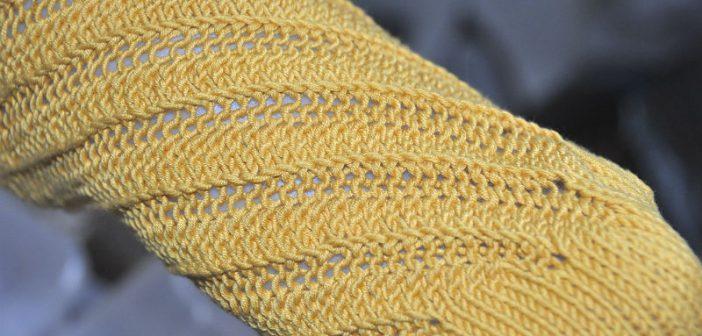 """Februar Socken """"Spiraloho"""""""