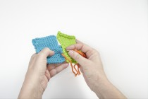 Videokurs Stricken #11 * Strickteile mit Längsnaht verbinden * Zusammennähen