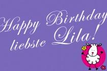 Gesundheit & Glück für unsere Lila!