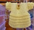 Strickanleitung Kinderkleid Glöckchenmuster
