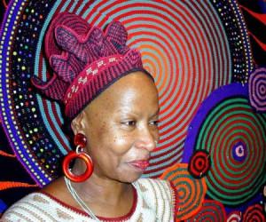 Häkel Künstlerin Xenobia Bailey
