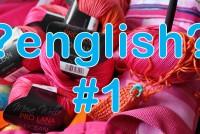 Englische Strickanleitungen verstehen * Teil 1