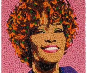 Unkonventionelle Mosaikkunst