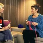 Das handgestrickte Interview mit Bina Bianca in Berlin