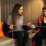 Das handgestrickte Interview mit Hey Mina in Berlin