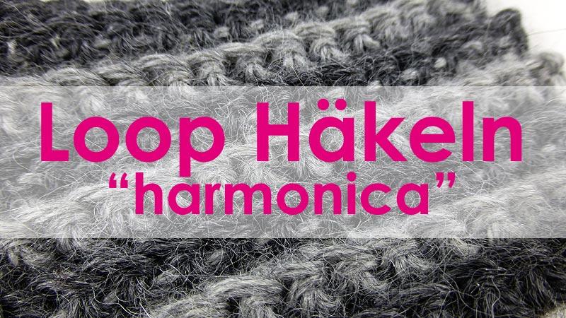 6 Dezember 2014 Gehäkelter Loop Harmonica Nadelspiel