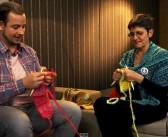 Das handgestrickte Interview mit Basti in Berlin