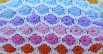 "Strickanleitung Babydecke ""Mille Baci"""