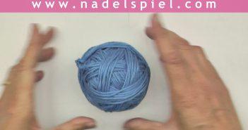 Stricken & Häkeln * Knäuel von Hand wickeln