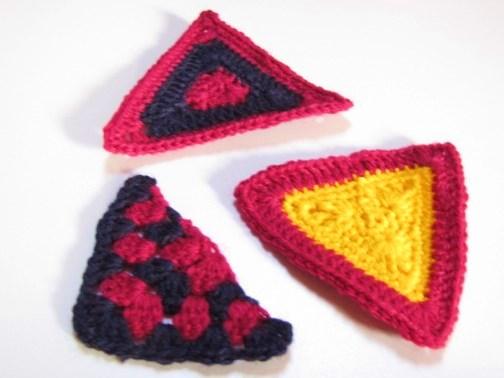 Geometrische Grundformen Häkeln 2 Dreiecke Stricken Und Häkeln
