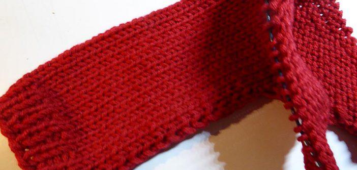 Pulloverserie * Kimono-Pulli quergestrickt