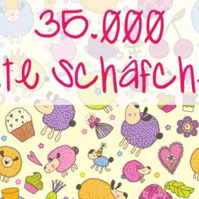35.000 Schäfchen in unserer fb-Gruppe!