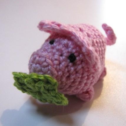 Amigurumi Glücksschwein