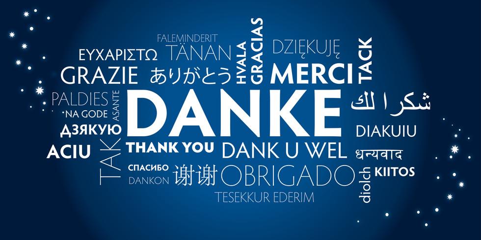 vielen dank und alles gute