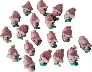 Amigurumi Glücksschweinchen