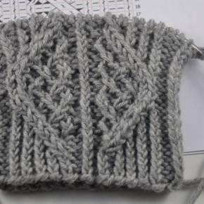 StriMiMi Jänner 2016 * Mütze, Armstulpen, Socken mit Zugmaschen