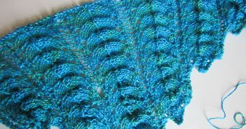 "Strickmuster der Woche * Lacemuster ""Parachute"""