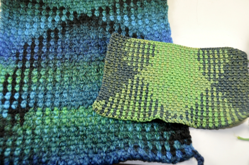Offset Häkeln * Crochet Planned Pooling