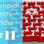 Adventskalender 2016 * 11. Dezember * Runden 27+28 & Mosaikmuster