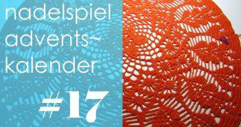 nadelspiel Adventskalender 2016 * 17. Dezember