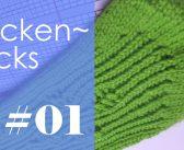 Socken stricken * Sockentricks #01 * Maschenanschlag mit/ohne Nadelspiel