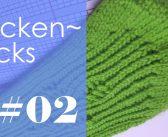 Socken stricken * Sockentricks #02 * Leitereffekt vermeiden
