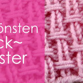 """Strickmuster """"Flecht-Waben-Muster"""""""