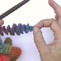 How to Crochet Corkscrew Spirals